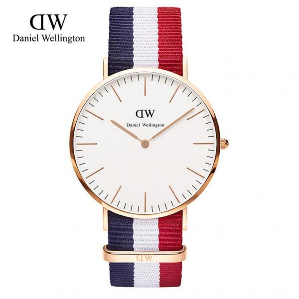 cb842321fdba 17 Colors Brand Luxury Daniel Wellington Watches Dw Watch Men Women Leather  Fabric Strap Sports ...