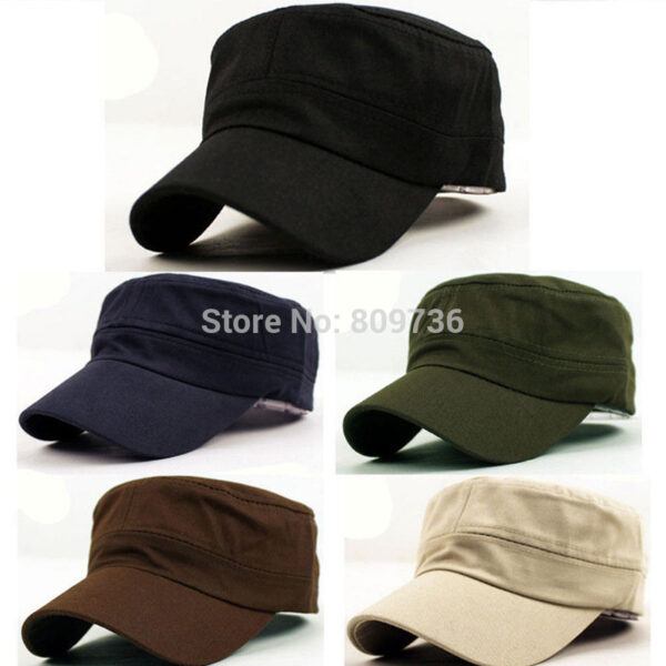 4aebe181ac0 1Pc Classic Women Men Snapback Caps Vintage Army Hat Cadet Military Patrol  Cap Adjustable Outdoors  1676Mia