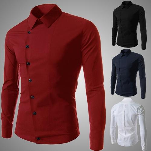 Man spring new men s casual long sleeve shirts dress shirt for Men s wedding dress shirts