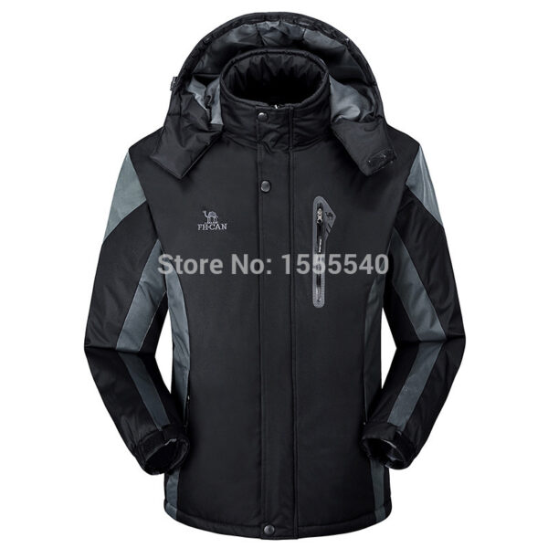 Parka Men Tourism Necessary Genuine Jacket Men Thick Mens Winter ...