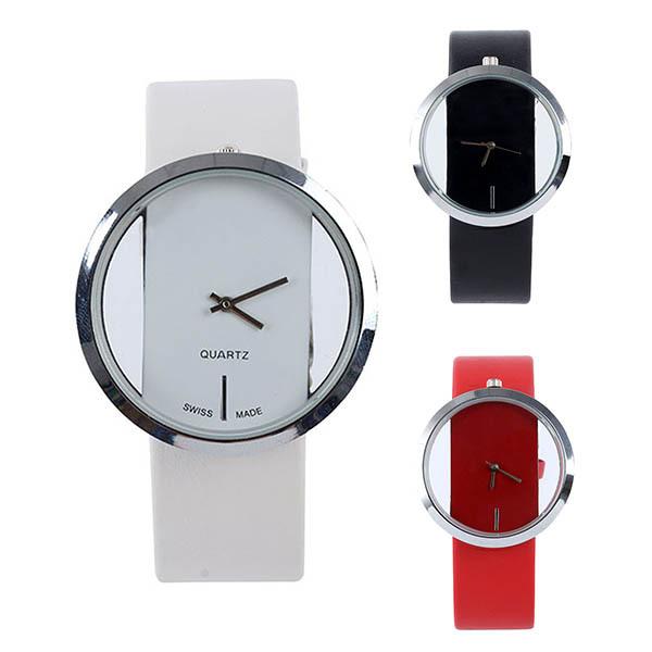 Часы quartz белые квадратные женские