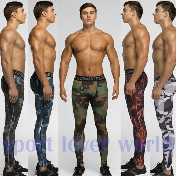 pro fashion skins camouflage compression for man outdoor