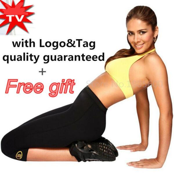 Super Women Hot Shapers Hot Slimming Capri Pants Leggings ...