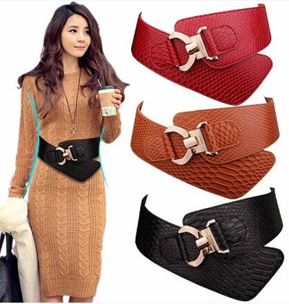 Newest Design Women s Decoration Belt Crocodile Leather Belt Woman High  Quality Belts Female  6678Emma 6f524f795